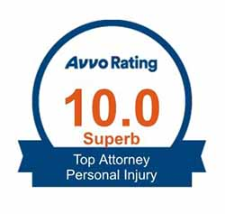 Image of Avvo Review of Top Attorney Personal Injury
