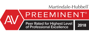 Image of Peer Rated for Highest Level of Professional Excellence