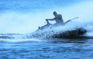Image of a person on a Jet Ski; Boating Accident Attorney at Juneau, Boll & Stacy, PLLC, in Addison & Dallas, TX